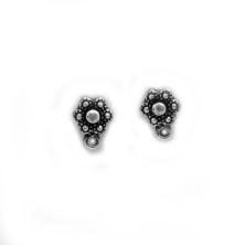 ZM72223-00 / Dormilona flor zamak. 6 Unid.