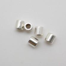 2140 / Cuenta tubito. 3.8*3.7mm. 50 Unid.