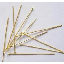 [HPG5cm] Alfiler dorado 5 cm. 50 Unid.