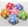 [PL048] Flores de acrílico. - 100 unid.