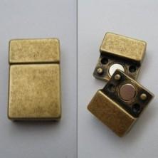 OV75842-10 / Cierre Zamak magnético OV 10mm. 3Unid.