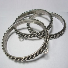 ZM72162-00 / Pulsera cadena con anilla. Unid.