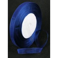 Cinta de organza azul marino 10mm. - Rollo 45 m.