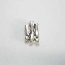 ZM76229-20 / Abalorio abstracto. 6 Unid.