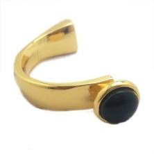 O77831-05 / Aplique media pulsera negra. Unid.