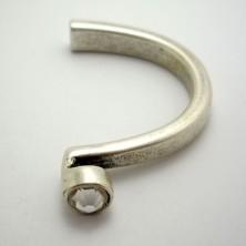 ZM77899-02 / Aplique media pulsera cristal pequeño. Unid.