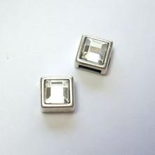 ZM77108-06 / Abalorio zamak cristal 6mm. 6 unid.