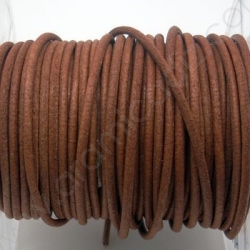 CCR2 / LEATHER CORD 2MM. LIGHT BROWN.