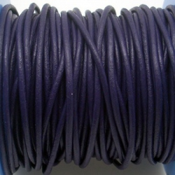 CCR2 / LEATHER CORD 2MM. PURPLE.