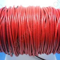 CCR2 / LEATHER CORD 2MM. RED
