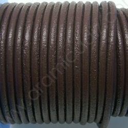 CCR25 / Brown leather cord 2,5mm. 1 m.