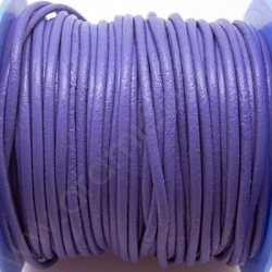 CCR2 / LEATHER CORD 2MM. LILA. 1M.