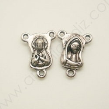 LF9411 / Abalorio para rosario. 12 Unid.