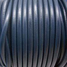 CC45 / Cordón cuero 4.5mm. Marrón claro. 1m.