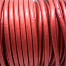 CC45 / Cordón cuero 4.5mm. COBRE METALIAZADO. 1m.