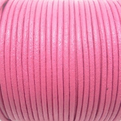 CCR2 / LEATHER CORD PINK. 2MM. 1M.