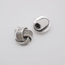 ZM77925-05 / Cierre boton NUDO. 2 Unid.