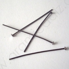 HPB4cm / Alfiler color negro 4 cm. 50 Unid.