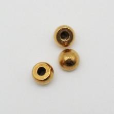 ZM76034-02 / Bolita medio taladro 2mm. 20 Unid.