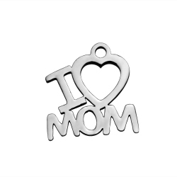 SST121 / CHARM ACERO I LOVE MOM.