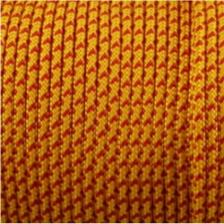 CORDÓN PARACORD 3MM. AMARILLO. 1M.