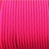 CORDÓN PARACORD 3MM. FUXIA. 1M.